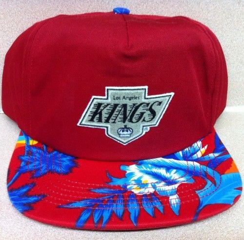 Share Pin Swag Hawaiian Print Snapback Hats Los Angeles Kings