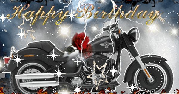 Birthday Ecards Harley Davidson ~ Pin by crystal gail on happy birthday happy birthday