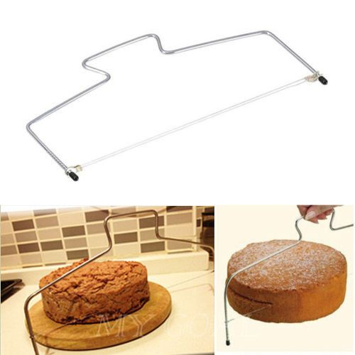 Cake Cutter Bread Wire Slicer Cutting Leveller Leveler Decorating Decorator Tool