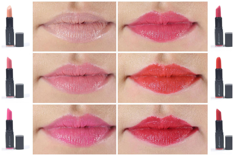 e l f moisturizing lipstick les rouges l vres hydratants studio makeup pinterest. Black Bedroom Furniture Sets. Home Design Ideas