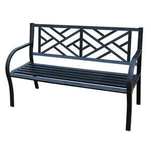 Jordan Manufacturing Steel Bench Walmart Com Metal Garden Benches Cheap Patio Furniture Outdoor Bench