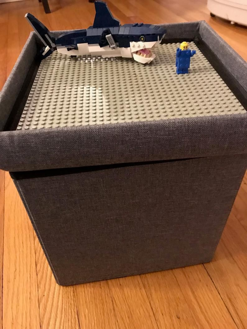 Lego Ottoman, Lego Space Saving Storage, Kids, Lego Table