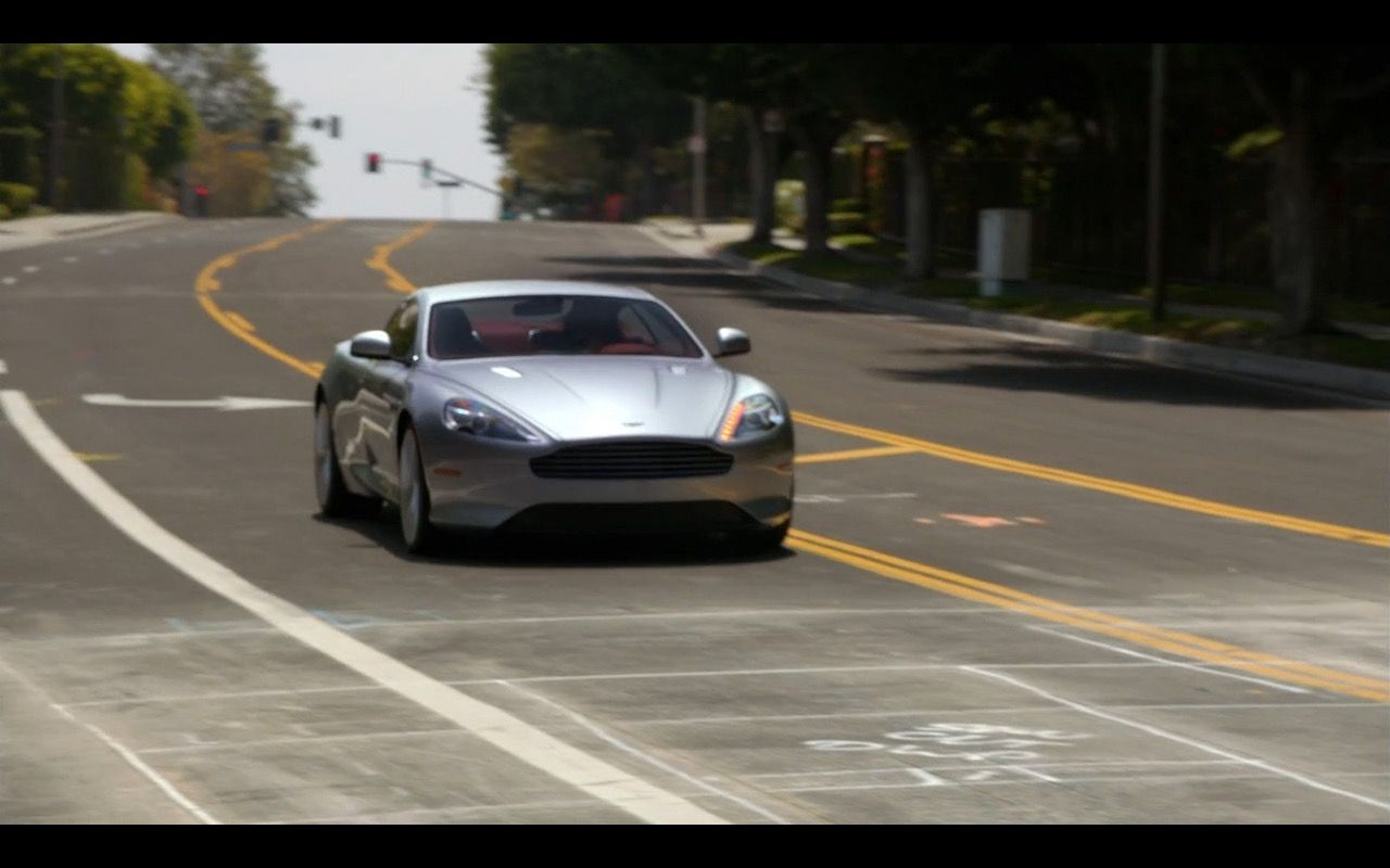 aston martin db9 - episodes tv show scene | brands in movies, tv