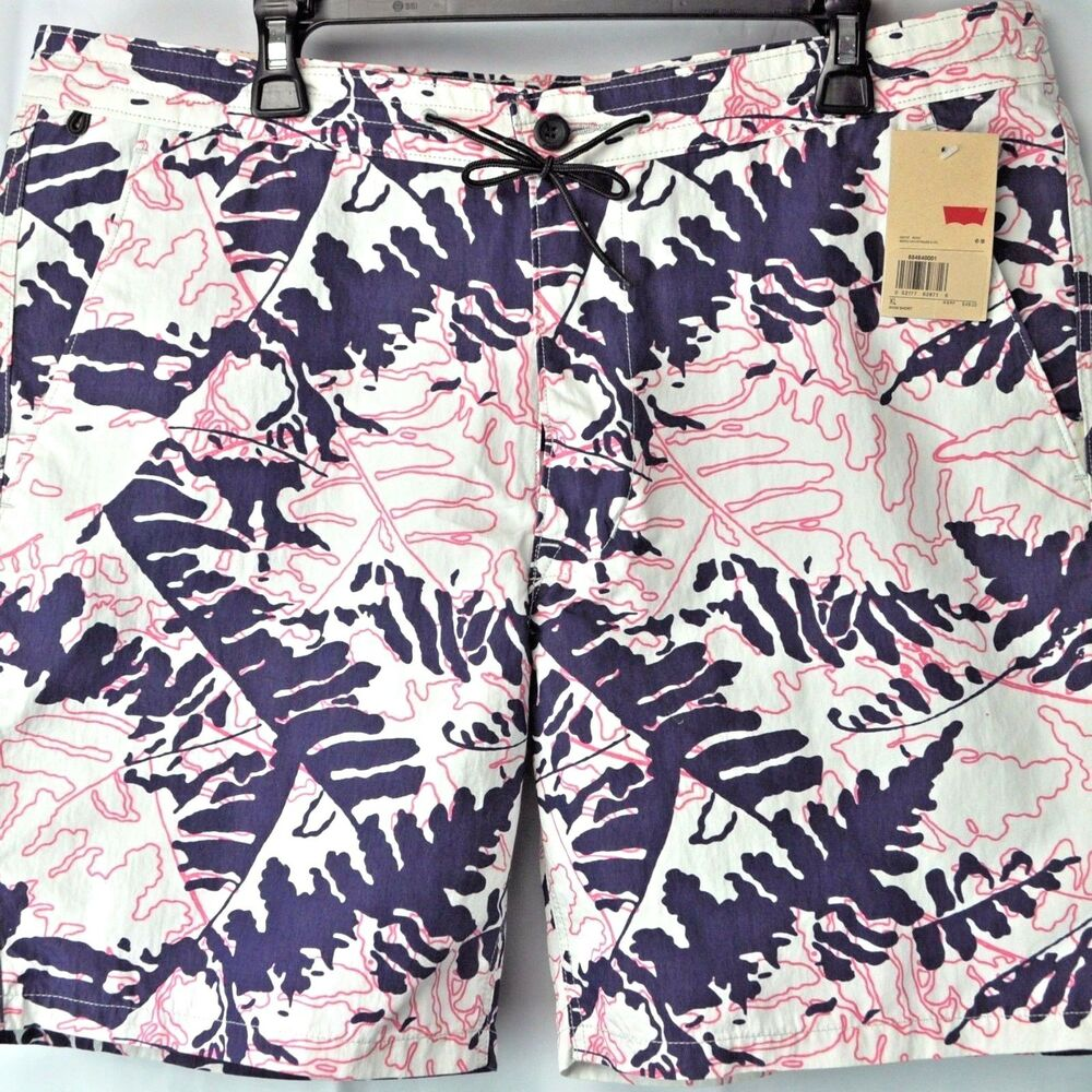 Hang Ten B Surfboard Swim Suit Board Trunks Shorts Boys Size 10 12 Medium NWT