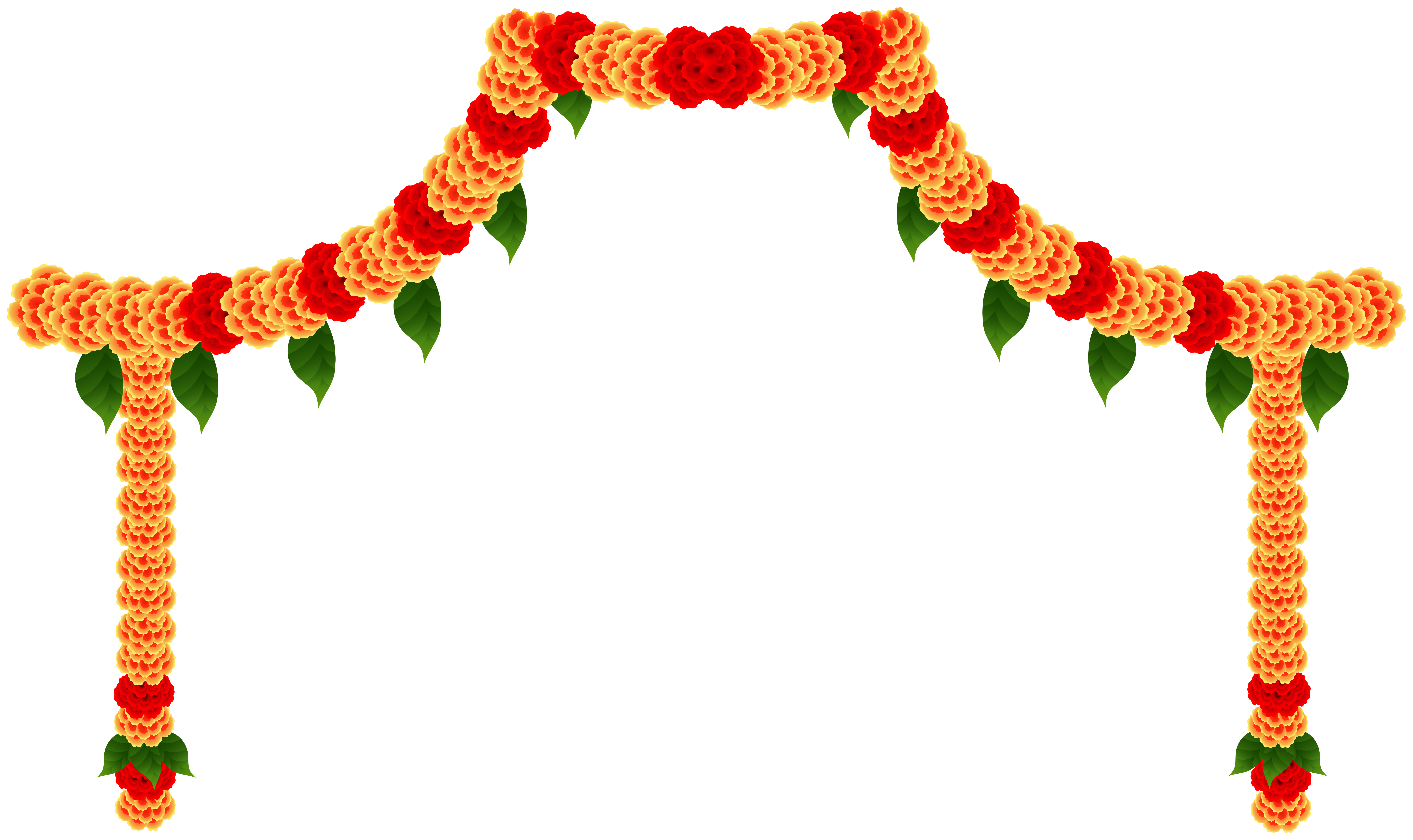 India Floral Decor Clip Art Image Gallery Yopriceville High Quality Images And Transparent Png Free Clipart Banner Clip Art Free Clip Art Wedding Symbols
