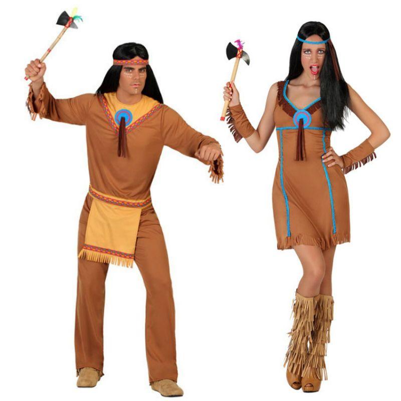 Cherokee india squaw indios disfraz señora disfraz indios vestido carnaval