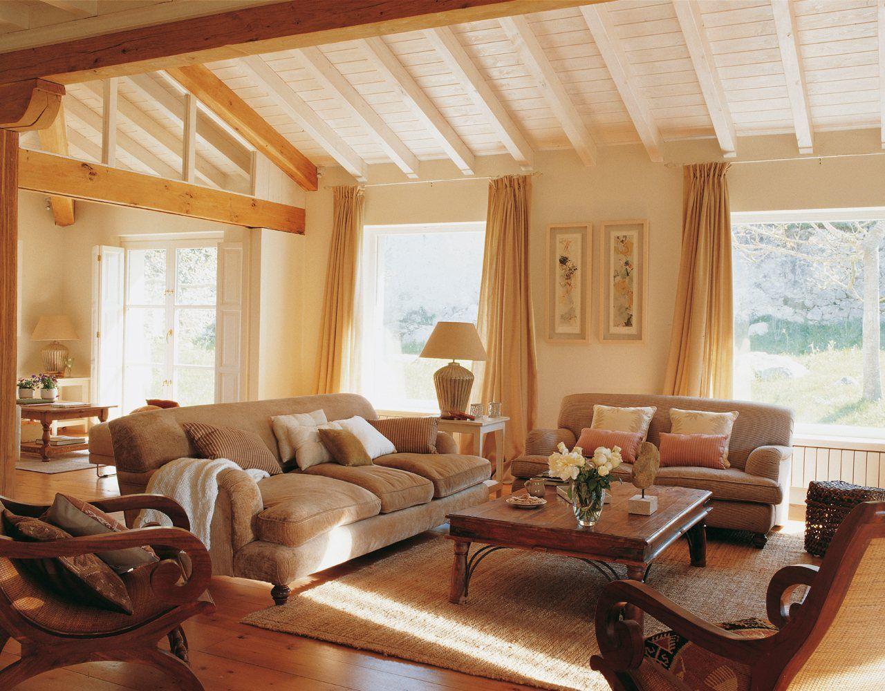 cortinas para casas de campo