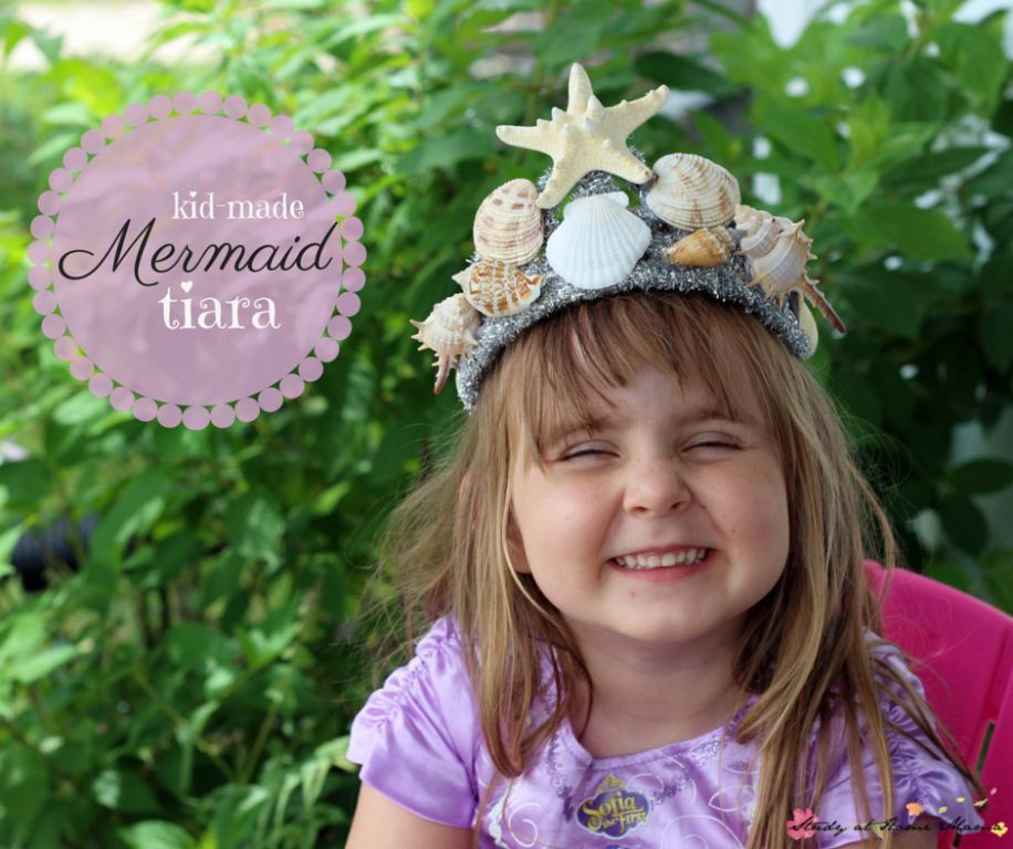 Kids craft ideas mermaid tiara diy tiara baby costumes and kid made mermaid tiara a gorgeous diy tiara for a mermaid costume or mermaid solutioingenieria