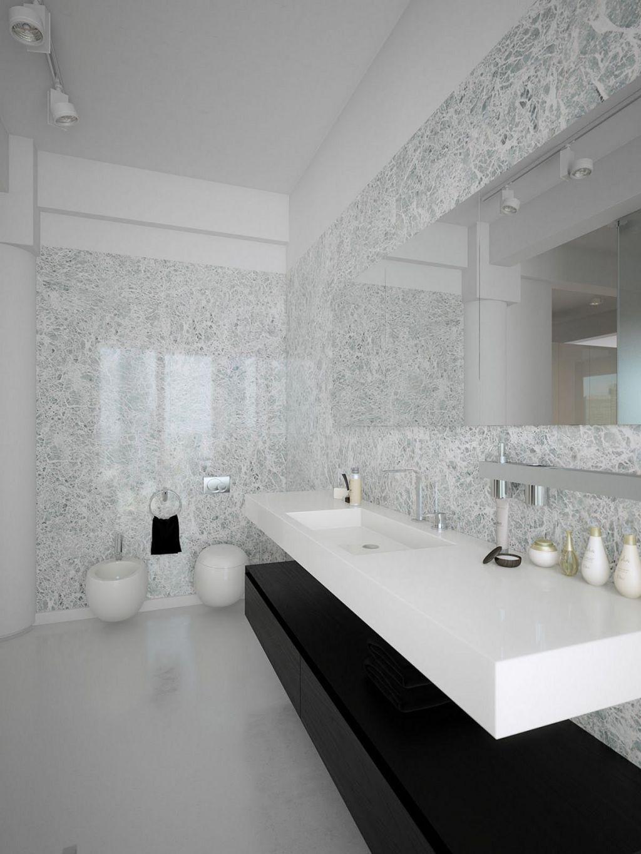 28 Modern And Wonderful Minimalist Bathroom With Marble Stone Ideas Decor Gardening Ideas Modern Bathroom Design Modern White Bathroom Minimalist Bathroom Modern white bathroom decor
