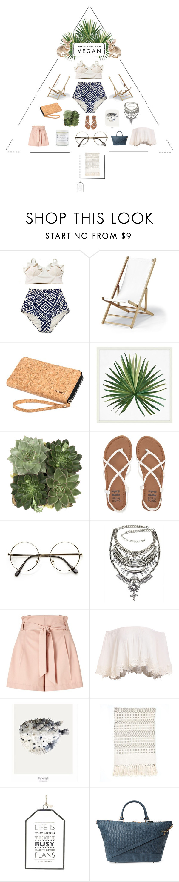 """""""Cloudy"""" by fashion-frugavore on Polyvore featuring Telescope Casual, Pottery Barn, Jayson Home, Billabong, Miss Selfridge, Ross & Brown, Deux Lux and Herbivore"""