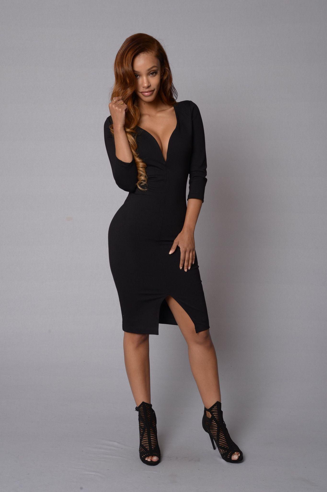 Norma Dress - Black