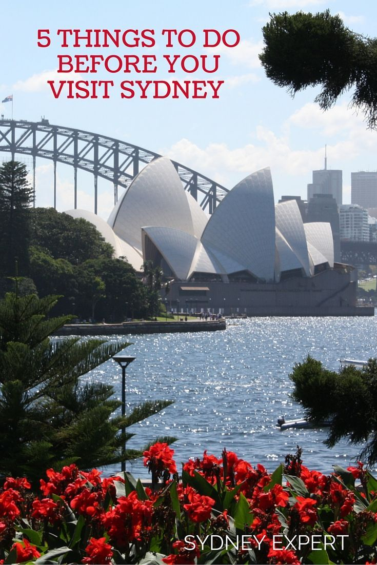Your tickets are booked now check these things off your list to plan the perfect visit to Sydney: