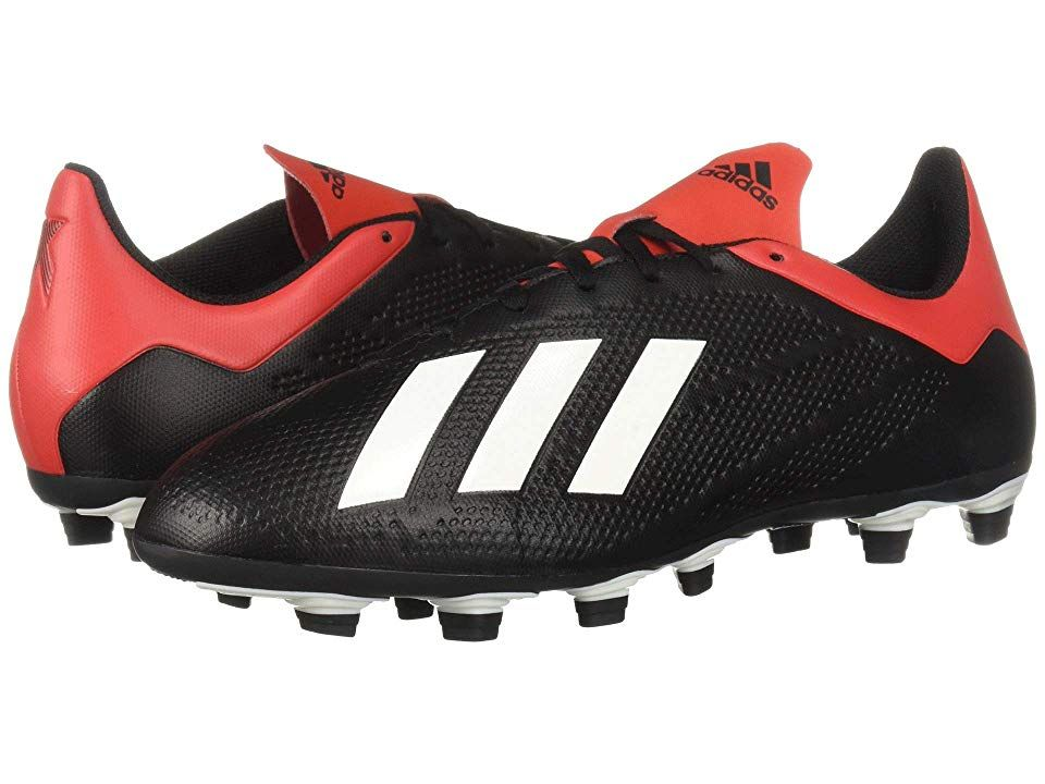 dd56bccb0 adidas X 18.4 FG (Core Black Off-White Active Red) Men s Soccer ...