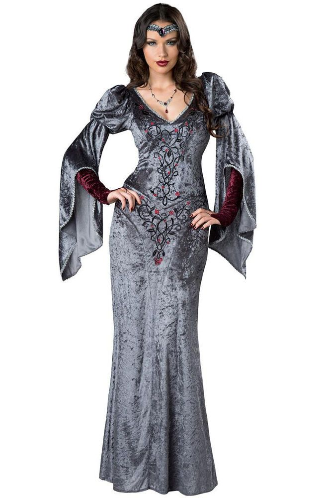 Renaissance Maiden Medieval Adult Women Costume