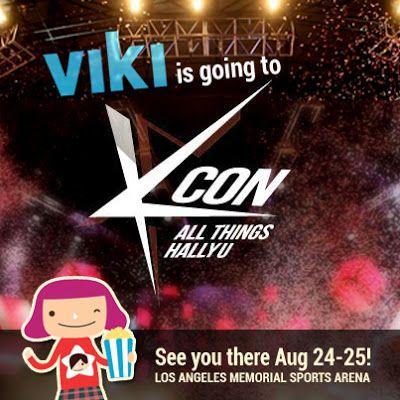 The Viki Blog: Viki is going to KCON!