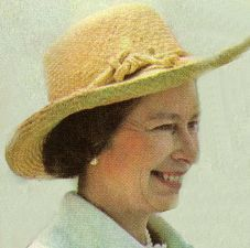 Queen Elizabeth II  in the 70s #queenshats Queen Elizabeth II  in the 70s #queenshats