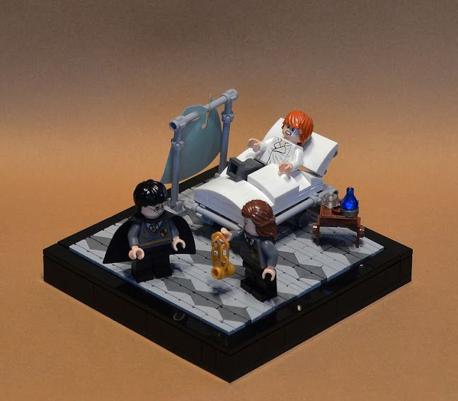 Lego Scenes From Harry Potter And The Prisoner Of Azkaban Lego