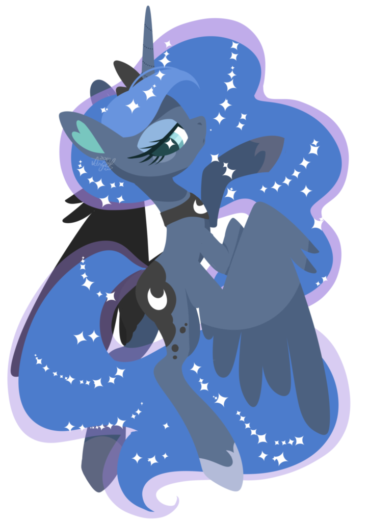 Sliding Unicorn Luna