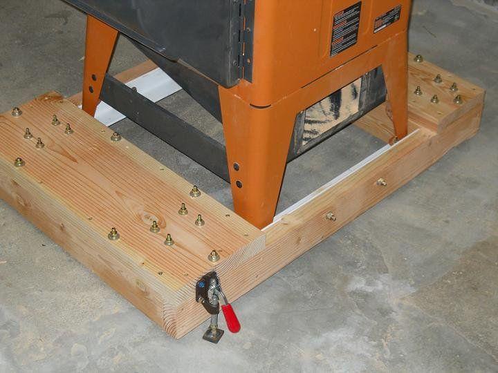Table Saws Bases Mobile Saw Base Ridgid R4511