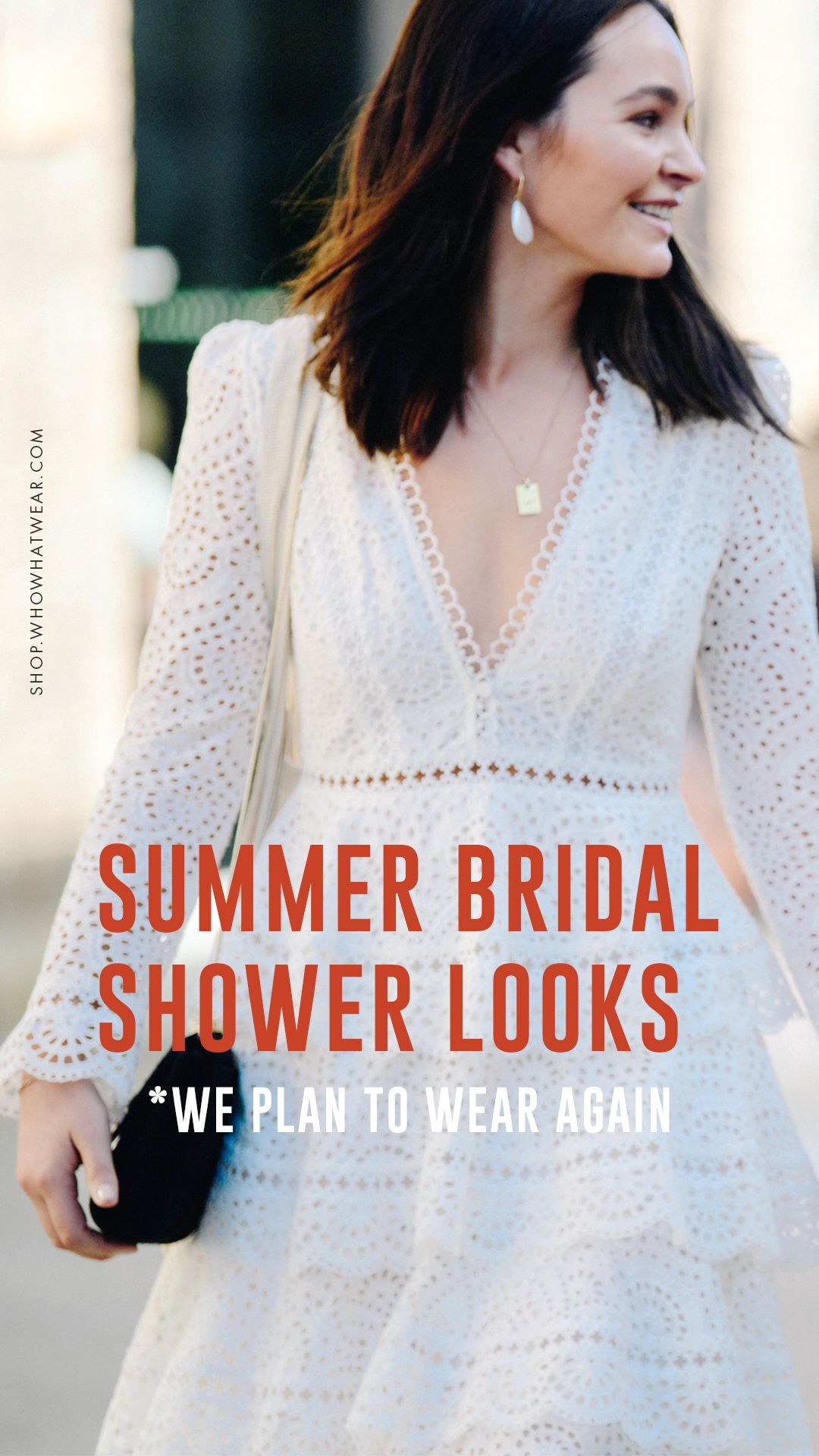 Heres What To Wear To A Summer Bridal Shower