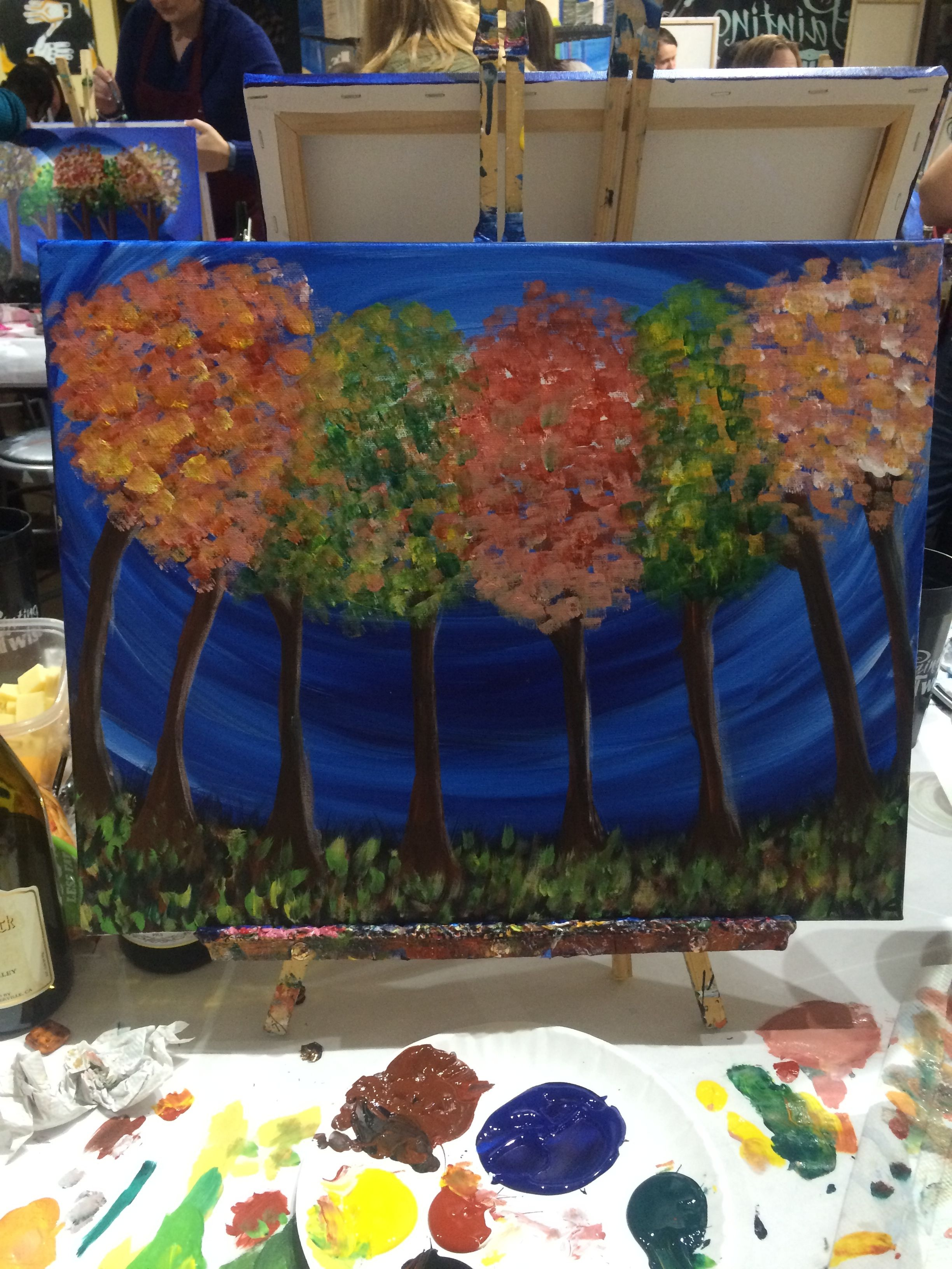 11814 Did This One At Painting With A Twist In Pittsburgh Pa