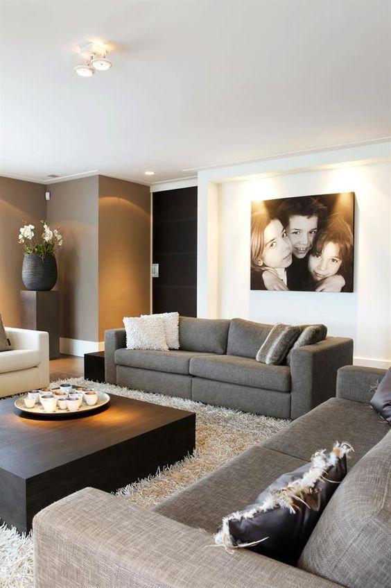 Modern interieur   Nieuw huis   Pinterest - Interieur, Meubels en ...