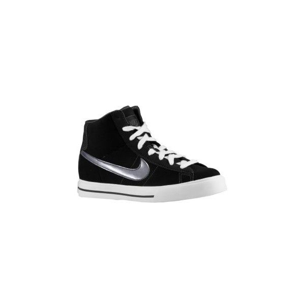c5aa3f6d Nike Sweet Classic High SI - Women's - Black Nubuck/Metallic Carbon ...