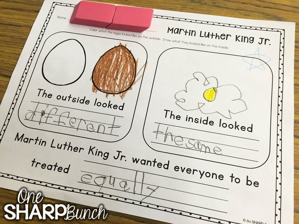 FREE Martin Luther King Jr Printable Kindergarten, Activities and - copy coloring pages of dr martin luther king jr