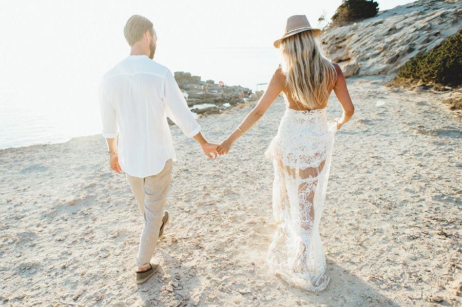 Strandhochzeit auf Formentera | Pinterest | Formentera beach ...