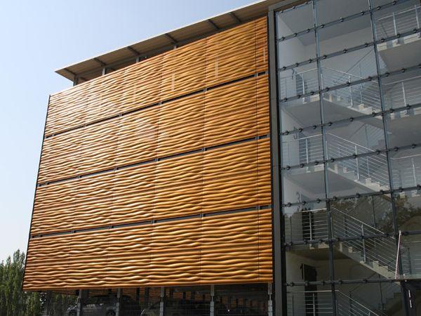 Lochblech Fassade Lochblech Metallfassade Und