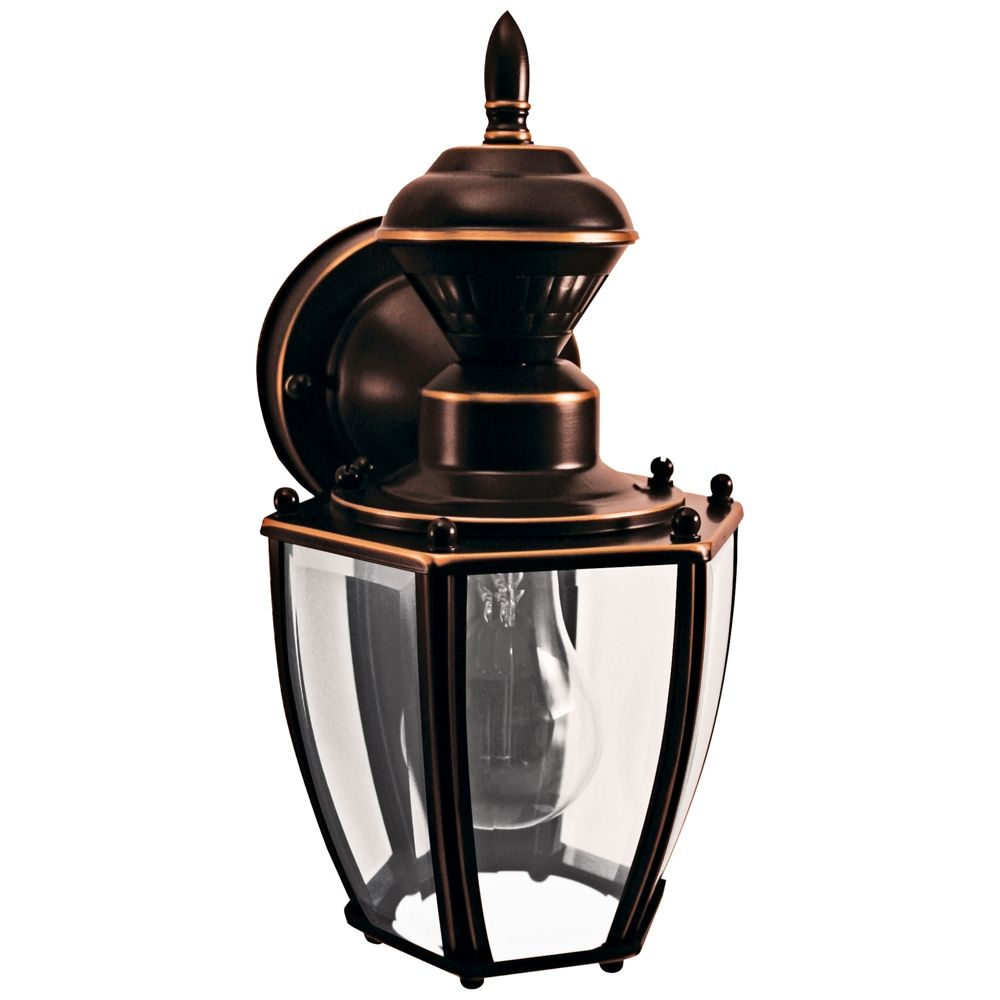 Coach Copper 10 3 4 H Motion Sensing Outdoor Wall Light Style