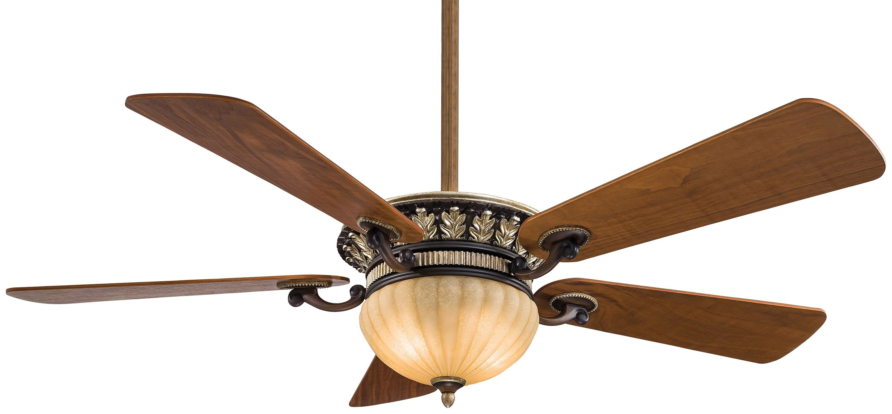 52 Ceiling Fan Three Sds Up Down Light Dimming Wall Mount In The Belcaro Walnut Motor Finish This Model Incorporates Our Uplight