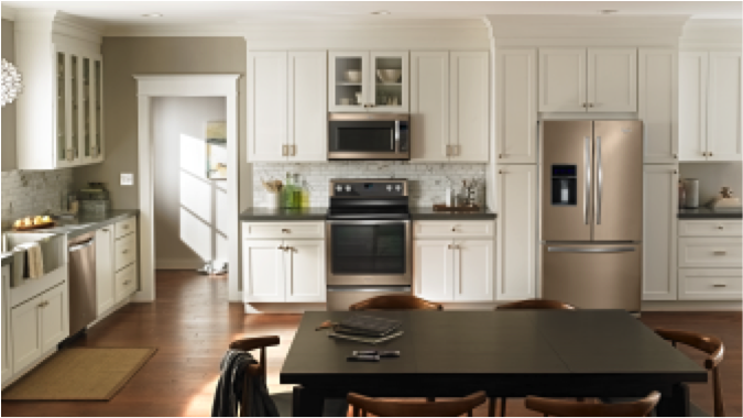 Sunset Bronze Appliances Why The Newest Whirlpool Kitchen Suite