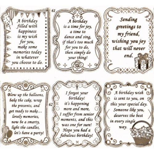 Birthday Wishes Verses