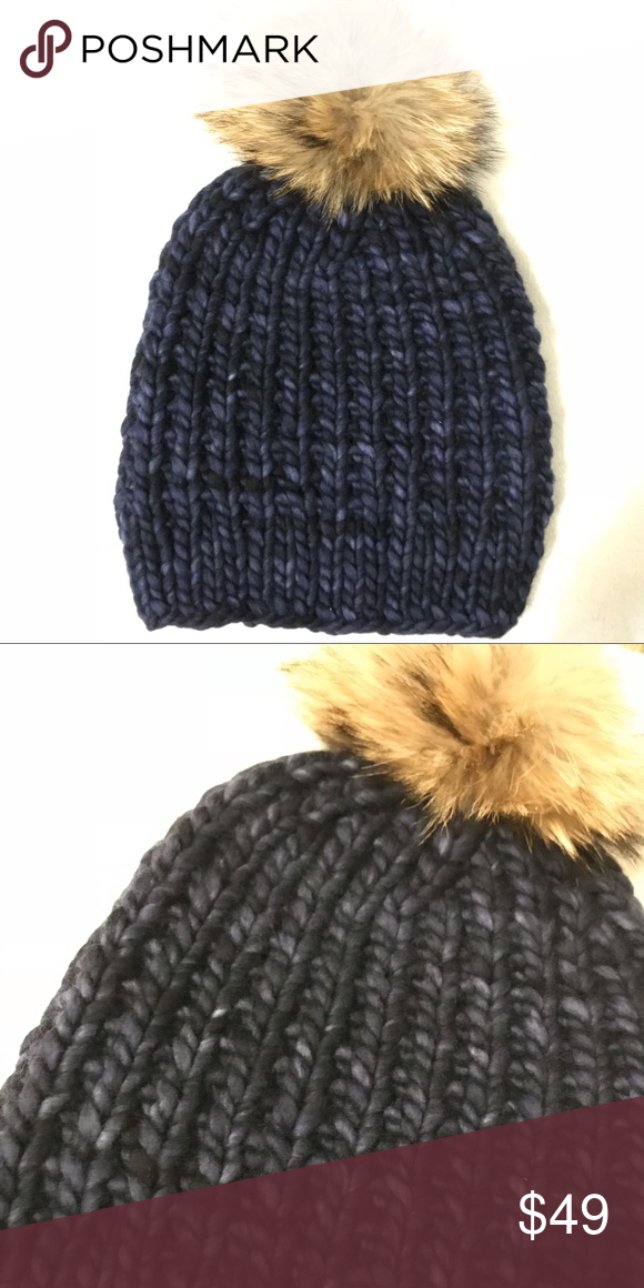 fd6ac0342 Handknitted wool hat Made from peruvian kettle dyed wool. malabrigo ...