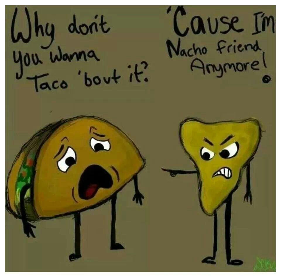 Taco y nacho
