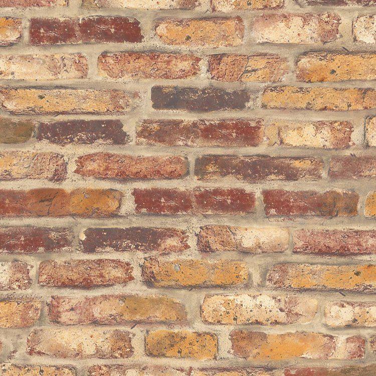 Nextwall Peel Stick Faux Rustic Red Brick Wallpaper In 2020 Red Brick Wallpaper Brick Wallpaper Red Bricks