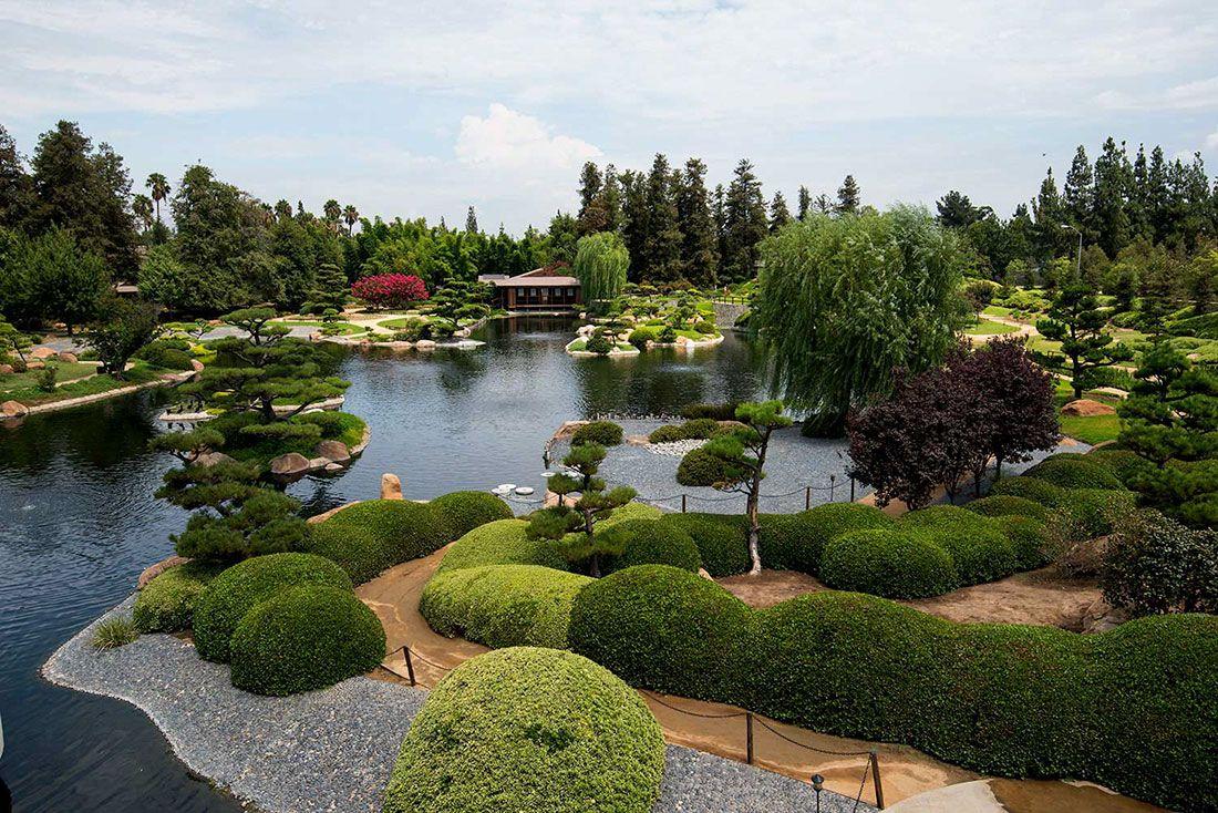 Suihoen Japanese Garden Near Los Angeles California See More At Http Hobblecreek Us Blog Ent Japanese Garden Small Japanese Garden Japanese Garden Lanterns
