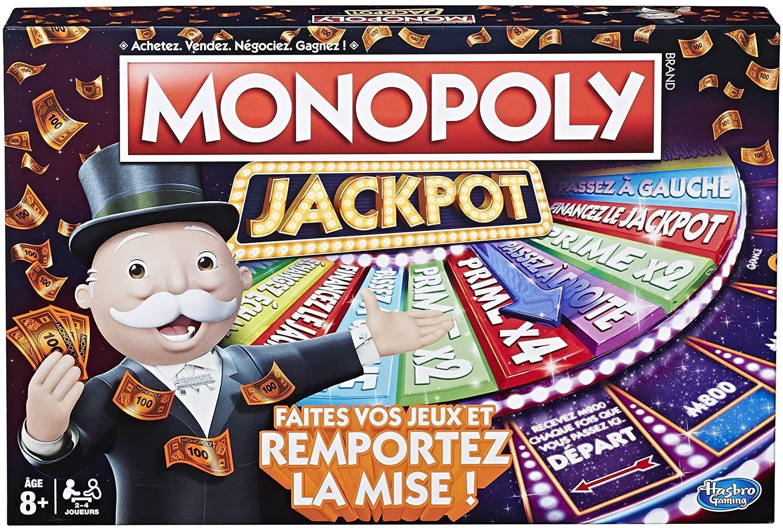 Monopoly - Jeu Jackpot - Jeu de Société en 2020 | Jeux de société, Monopoly, Jeux