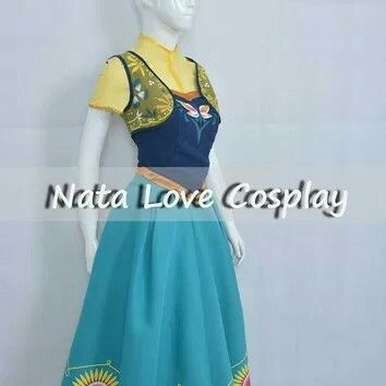 Anna Frozen Fever dress