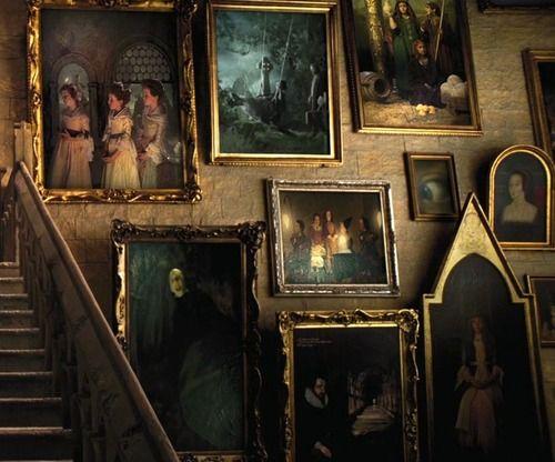 Portrait Wall Harry Potter Wall Hogwarts Harry Potter