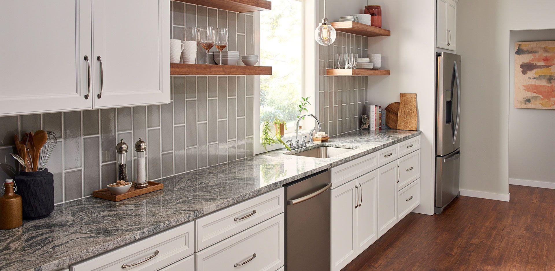 Silver Creek Granite Room Scene In 2020 Countertops Kitchen Remodel Kitchen Design