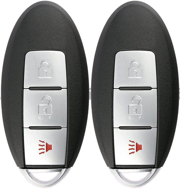 KeylessOption Keyless Entry Remote Smart Car Key Fob for