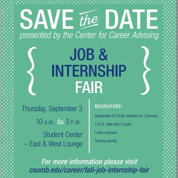 Job And Intern Fair Flyer  Wvhs Go Center