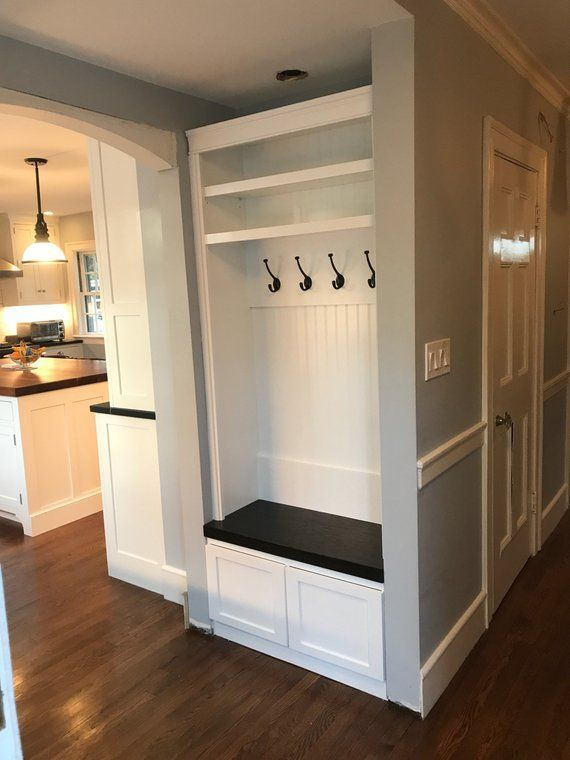 Entryway locker with drawers shoe bench hall tree Dropzone Mudroom
