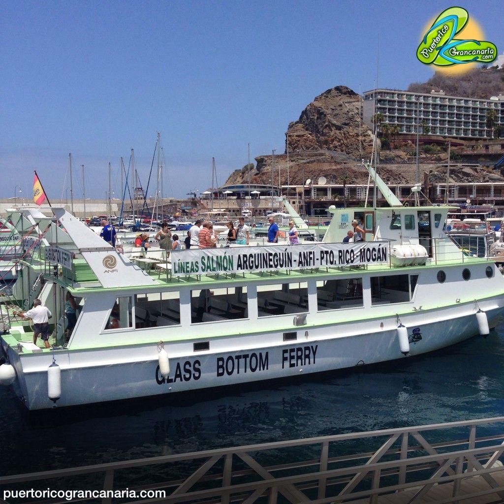 Lineas Salmon Glass Bottom Ferry Gran Canaria Canario España Ferry