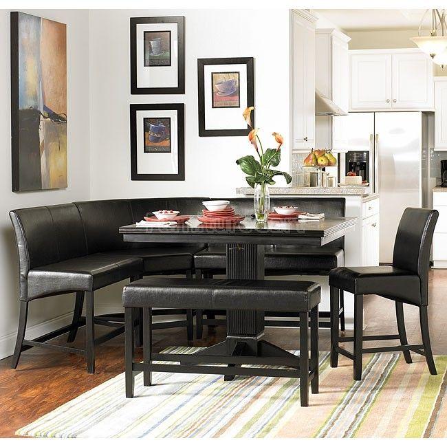 Papario Counter Height Corner Nook Set Counter Height Dining