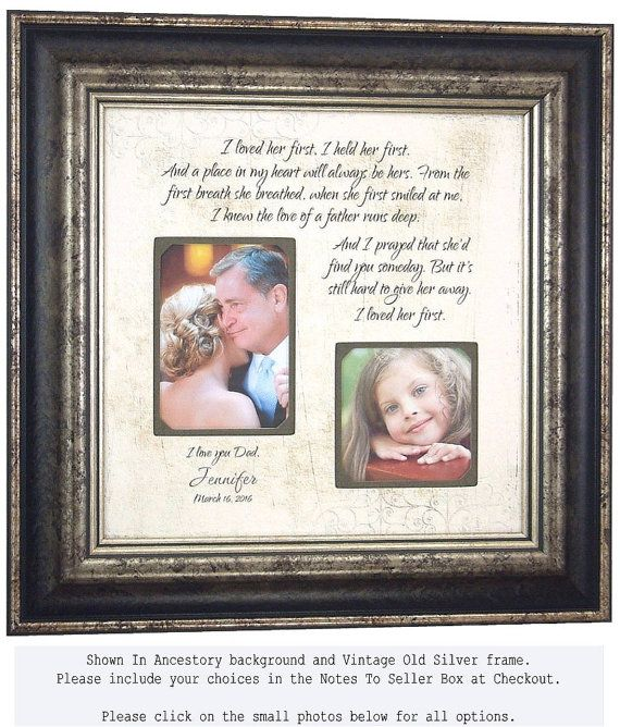 Father Of The Bride Gift Father Daughter Gift I Loved Her First