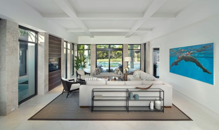Prestigieuse maison de vacances en floride intérieur moderneaccessoire
