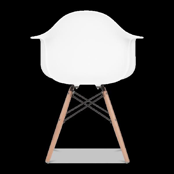 charles ray furniture. charles ray silla estilo daw - blanco del cult furniture reino unido